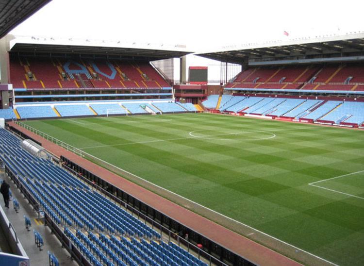 stadion Aston Villa Park największe stadiony Anglia piłka nożna Premier League