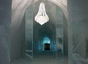 Jukkasjarvi lodowy hotel architektura ciekawostki
