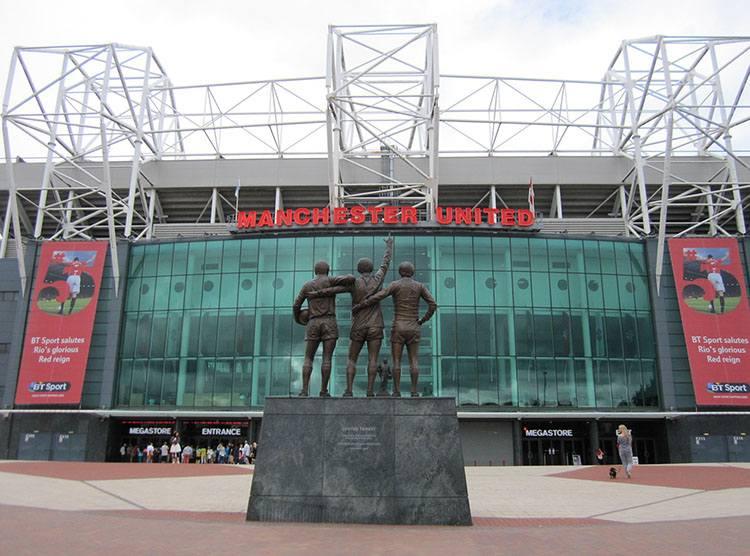 stadion Old Trafford Manchester United największe stadiony Anglia piłka nożna Premier League