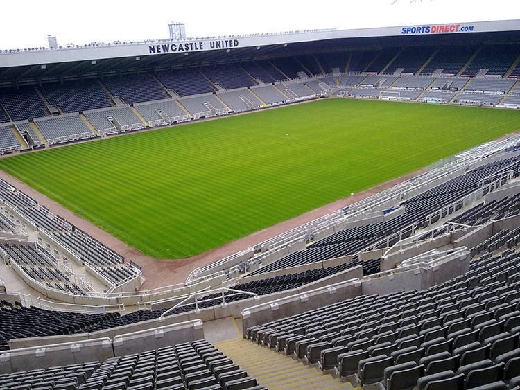 stadion St. James Park Newcastle United największe stadiony Anglia piłka nożna Premier League
