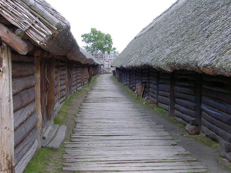 osada Biskupin ciekawostki