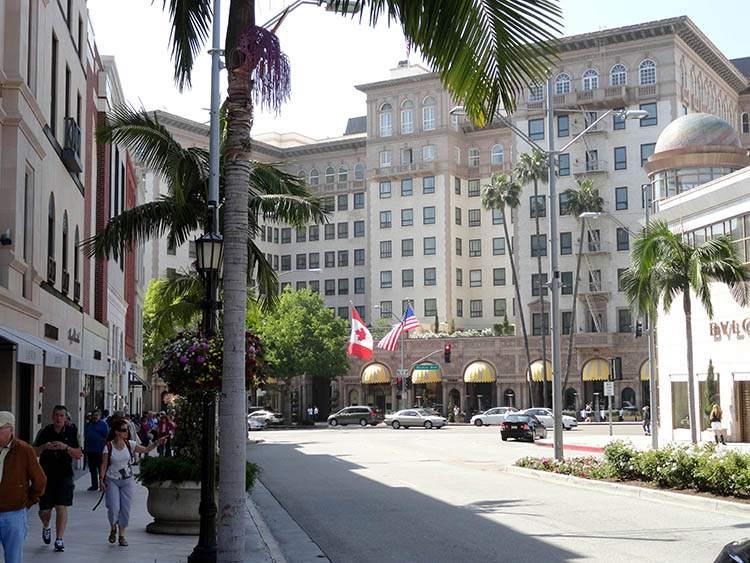 Beverly Hills Los Angeles ciekawostki atrakcje