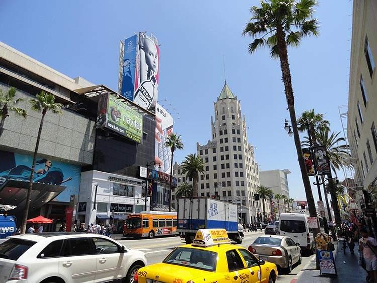 Hollywood Los Angeles ciekawostki atrakcje