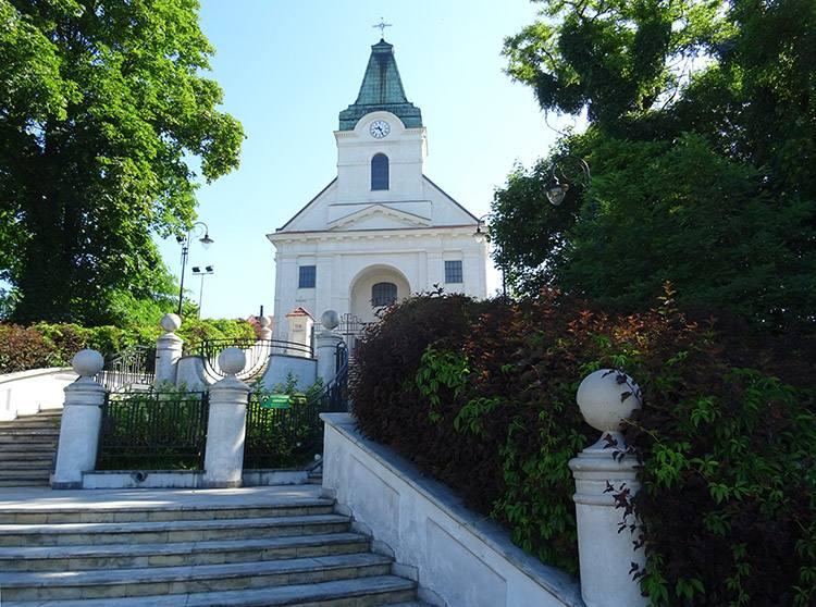 kościół św. Idziego Wyszków ciekawostki atrakcje zabytki