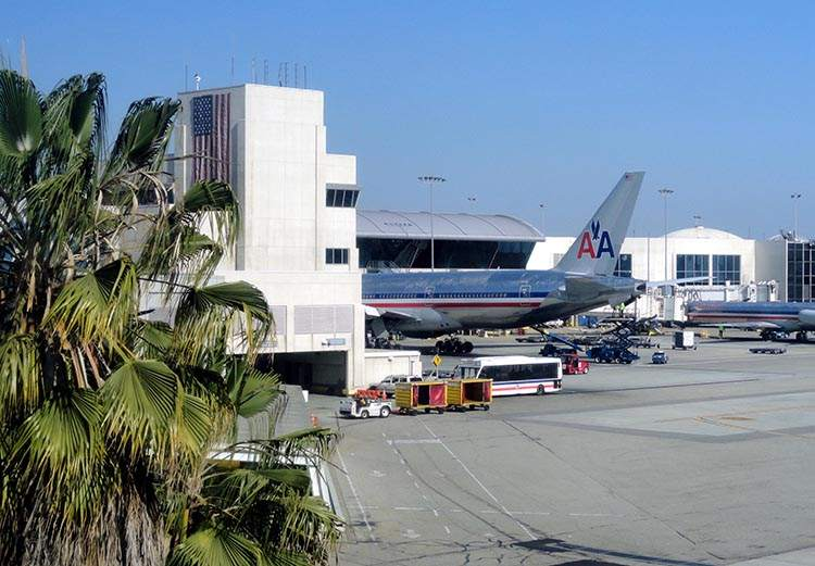 LAX lotnisko Los Angeles ciekawostki atrakcje
